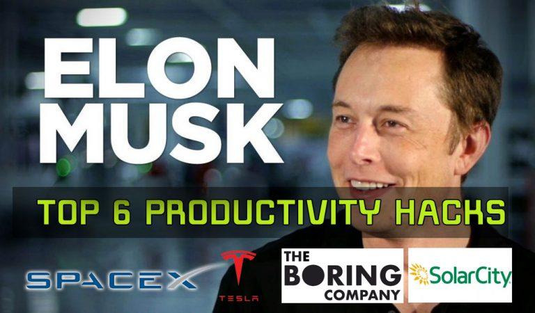 Elon Musk's Top 6 Smart Hacks for Maximizing Productivity